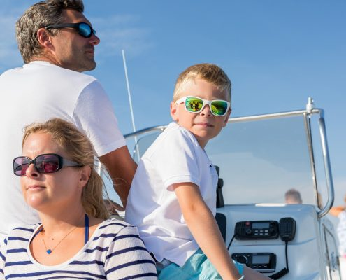family boating trips in ireland